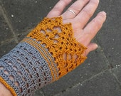 JANE, Crochet wristlet pattern, pdf