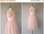 25% OFF SALE... 1950s Formal Dress | 1950s Dress | 50s Party Dress | 50s Prom Dress- size small