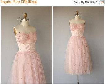 25% OFF SALE... 1950s Formal Dress   1950s Dress   50s Party Dress   50s Prom Dress- size small