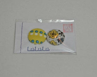 Super Strong Fabric Magnets - Yellow