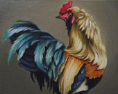 Hackles - original painting by Kellie Marian Hill