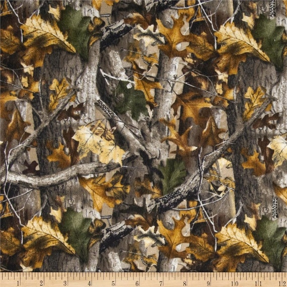 Realtree Camo Hunting Fabric Flannel 100 Cotton Print