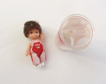 Crissy Cola soda can doll . retro kitsch plastic collectible toy .sale s a l e