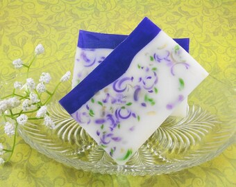 Soap - Shady Lady Violet Soap Made With Shea Butter - Glycerin Soap - Handmade Soap - Spring Scented Soap - SoapGarden