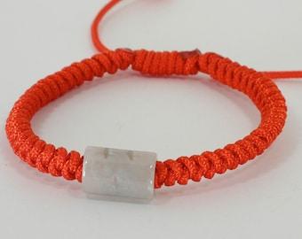 Jade lulutong Good Luck Red String Bracelet