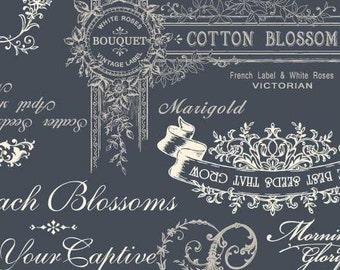 Natural Tone Cotton/Linen Blend  RU2240-11C Quilt Gate Cotton Linen Fabric