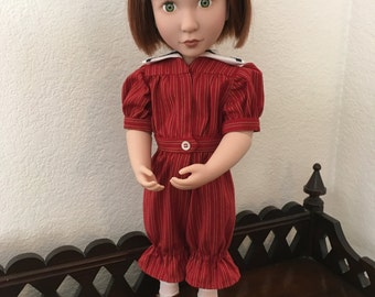 Victorian Swimsuit for 16 inch doll