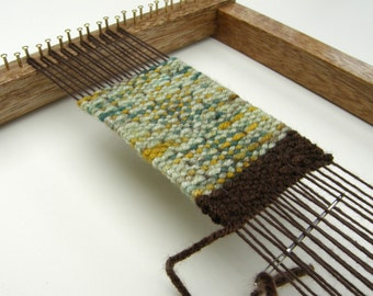 Beautifully Made Weaving Loom - Oak Finish Loom - Make Your Own Weavings (Loom Only)