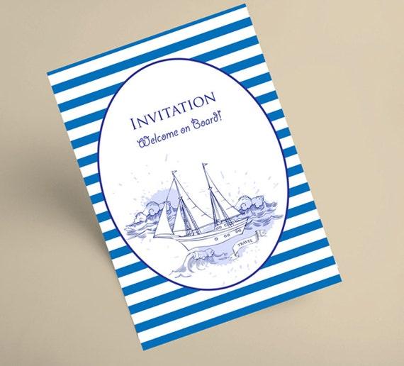 Sea and Waves. Clip art, clipart, Summer holidays, see, wave, ocean, water, summer, marine, hand drawn, travel, ship, yacht, nautical,