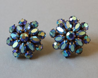 Vintage Austrian Crystal Earrings