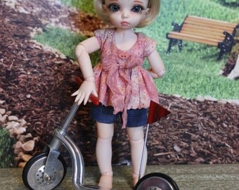 Summer Fun Shorts Set for Fairyland LittleFee  BJD dolls by Alisewn