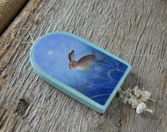 Hare - Handmade Ornament/Hanger