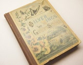 Antique book, childs book, childrens book, insect book, ANIMAL CHARITY DONATION