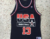 Shaquille O'Neal Dream Team Jersey 1990s Olympics - vintage jersey size medium