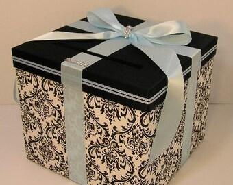 Fall Wedding Gift Card Box : Wedding Card Box Fall Gift Card Box Money Box by bwithustudio