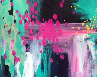 Daydreaming -  Abstract Art - 11x11 Giclee Print - Home Decor