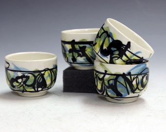 ceramic tea bowls office party gifts tea bowls cider bowls gifts party gifts whiskey shooters saki cups.