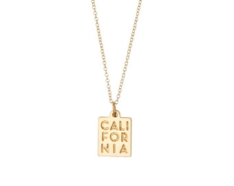 CALI CHARM NECKLACE
