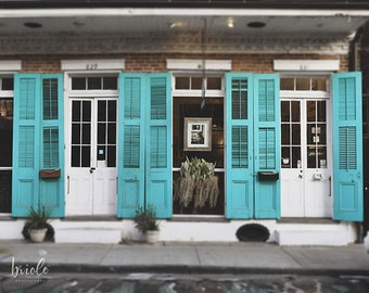 """New Orleans Photograph, French Quarter Art, Louisiana Architecture Photography, Art Print, Travel Picture """"French Quarter Art Gallery"""""""