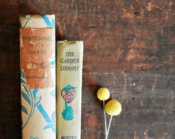 Vintage Gardening Books, Gardening With Herbs, Growing Strawberries, How To Garden Books