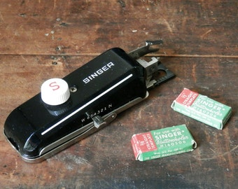 Singer Buttonholer, Vintage Singer Sewing Tool, Sewing Machine Attachment, Seamstress Gift