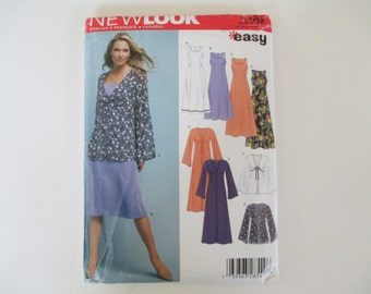 New Look 6403 Pattern, Dress or Tunic, Uncut, Sizes 10-22