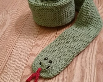 Garter Snake Scarf