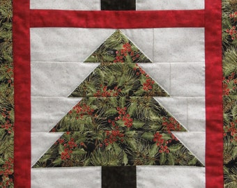 Christmas Tree Wall Hanging/Table Runner Kit-Easy Quilting Design-All Fabrics Inclcuded
