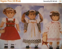 American Girl Doll Patterns--Lots of Options --6 Outfits--UNCUT PATTERNS