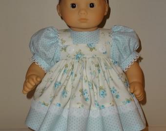 Dress, Headband for 15 inch Bitty Baby doll