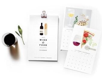 2017 Wine Pairing Calendar