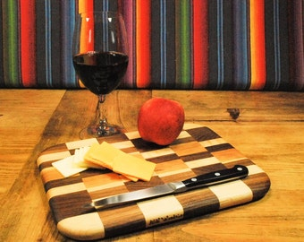 Gifts for the Home Chef, Handcrafted Kitchen Board, Handmade Edge Grain Cutting Board, Cheese Board, Fruit Death Table, By ASH Woodshops