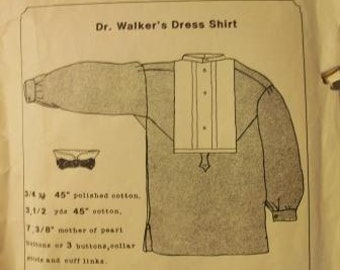 Dr. Walker's Dress Shirt Pattern