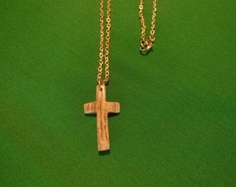 Deer Antler Cross Necklace Lot 22 small
