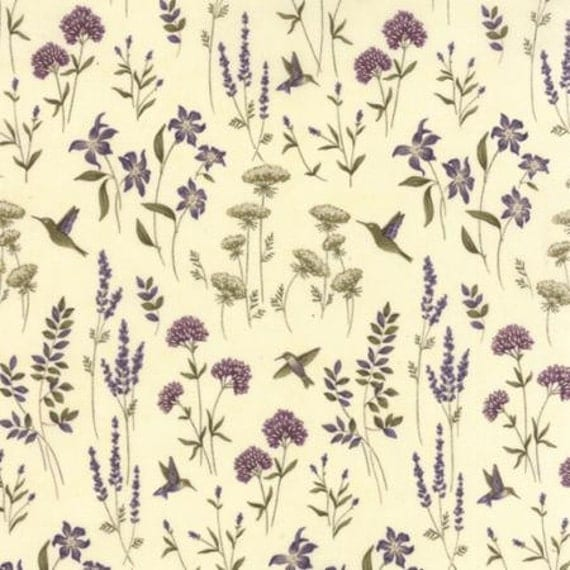 The Potting Shed Fabric Antique White 6623 11 Holly Taylor