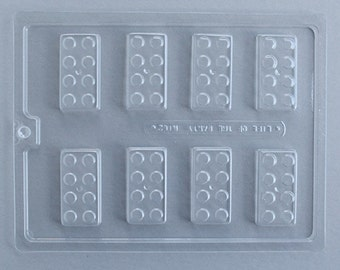 Block Chocolate Mold, Building Block Candy Mold, Lego Birthday Party