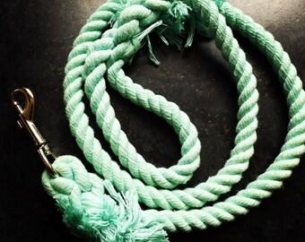Aqua Rope Dog Lead