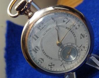 Gentleman's Illinois 17 Jewels Model 415 Pocket Watch