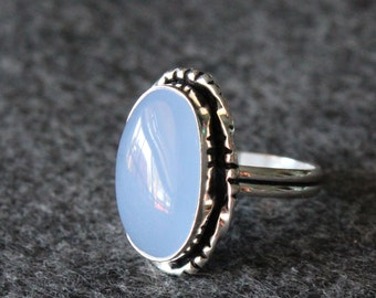 Vintage Gemstone Ring Silver 925