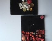 Vintage button collection aunt helens obsession button parade folk art