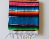Mexican Serape Table Runner or Wall Hanging