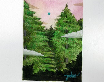 Vanishing Point Original Art