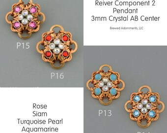 Kit Reiver Component 2 Bronze Chainmaille with Crystaletts