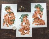 Tattooed Ladies - Mini Prints