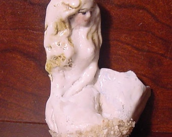 Porcelain Mermaid Figurine for your aquarium