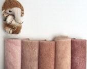 Sassy long pile mini bear fabric teddybear making supply