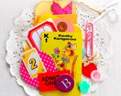 Mini Junk Journal  Kit / Inspiration Kit / 20 Pieces / Project Life / Junk Journal / Daily Planner