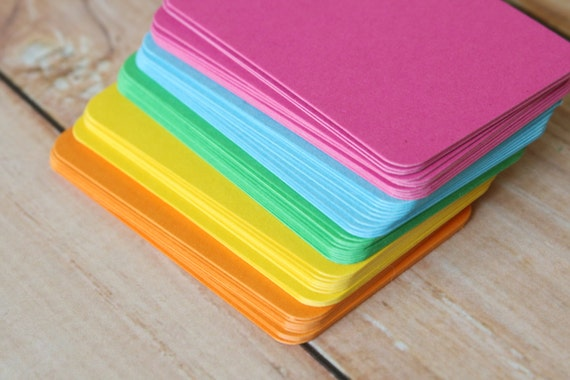 500pc VIBRANT Colours Eco Series Business Card Blanks