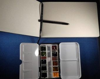 Daniel Smith Watercolor Travel-Size Art Journal & Painting Kit - Primatek Paints