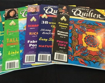 American Quilter Magazine - 5 Issues from 2006 - Like New Condition